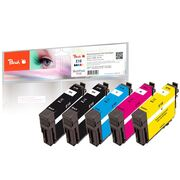 Peach Combi Pack Plus, compatible with Epson No. 18