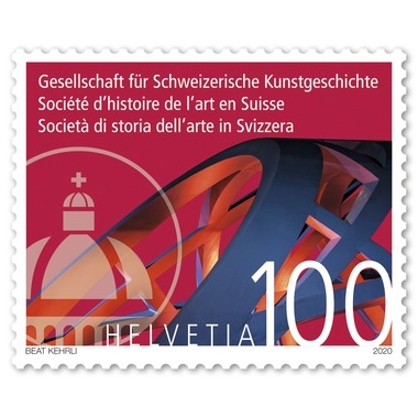 Stamp CHF 1.00 «Society for the History of Swiss Art» Single stamp of CHF 1.00, gummed, mint