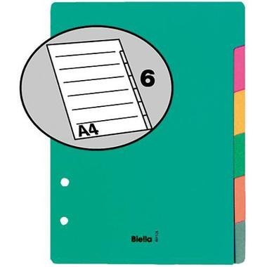 BIELLA Register cardboard colour A5 46052600 6 pcs.