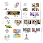 2019 Set of first-day covers 2019 Set of first day covers