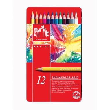 CARAN D'A Coloured pencil Supracolor 3888.312 12 colours