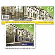 Swiss railway stations, Stamp booklet «Brig» Stamp booklet «Brig» with 10 stamps, postage value CHF 0.85, self-adhesive, mint