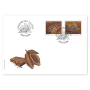 Chocolat, First-day cover Set (4 stamps, postage value CHF 3.00) on first-day cover (FDC) C6