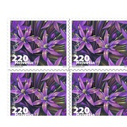 Vegetable blossoms, Sheet Vegetable blossoms, Business sheets of 10 stamps, Leek, mint