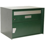 Mailbox green powder coated