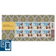 1000 years Basel cathedral, Sheetlet Sheetlet with 8 stamps of CHF 1.00, gummed, mint