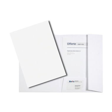 BIELLA Offer folder Pearl#1 186400.01 white 225x315mm