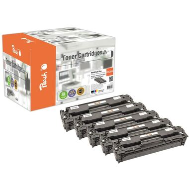 Peach Combi Pack Plus, compatible with HP No. 128A