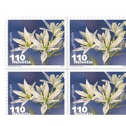Vegetable blossoms, Sheet Vegetable blossoms, Business sheets of 10 stamps, Wild garlic, mint