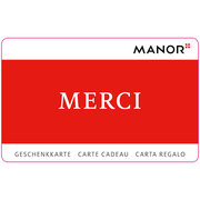 Carte cadeau Manor Merci variable