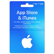 Carte cadeau App Store & iTunes variable