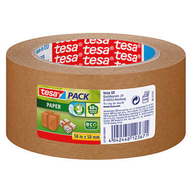 TESA Packing tape Eco Logo 50mmx50m 571800000 brown