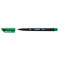 STABILO OHP Pen permanent 1mm 843 / 36 green