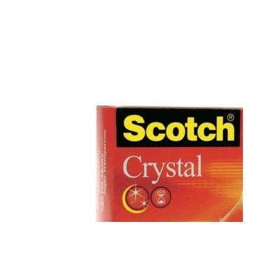 SCOTCH Crystal Tape 600 19mmx33m 6001933K kristallklar