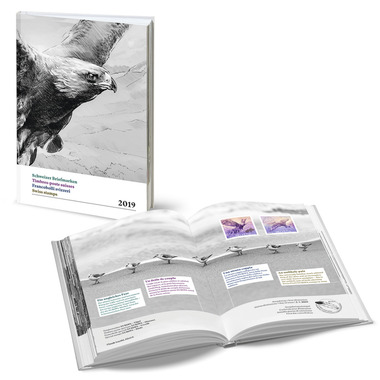 2019 Year book of Swiss stamps 2019 Year book of Swiss stamps, cancelled