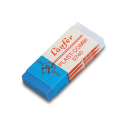 LÄUFER Eraser combi Plast 46x20x9mm 0740 with cardboard