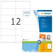 HERMA Universal Labels 105x48mm 4457 white 1200 pcs. / 100 sh.