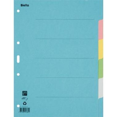BIELLA Register cardboard colour A4 461406.00 6 pcs., plain