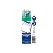 BÜROLINE Envelope w / o window C6 306100 100g, white 50 pcs.