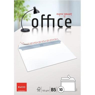 ELCO Envelope Office w / o window B5 74495.12 100g, white 10 pcs.