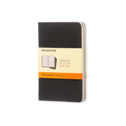 MOLESKINE Notebook Cahier A6 704895 lined, black 3 pcs.