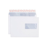 ELCO Envelope Office window ri. C5 74536.12 100g, white, glue 100 pcs.