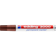 EDDING Permanent Marker 3000 1,5 - 3mm 3000 - 7 brown