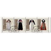 Traditional Swiss costumes, Miniature sheet Miniature sheet of CHF 4.00, gummed, cancelled