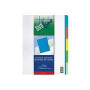 BÜROLINE Register cardboard colour A4 604190 5 pcs.