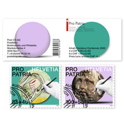 Craftsmanship and cultural heritage, Stamp booklet Stamp booklet with 4 stamps at CHF 0.85+0.40 with  «Fresco» motif and 6 stamps at CHF 1.00+0.50 with  «Sculpture» motif, gummed, cancelled
