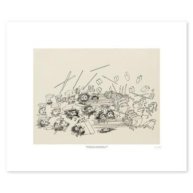 Image of 100 Jahre Dürrenmatt, Kunstdruck