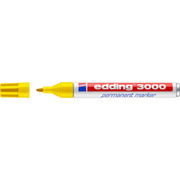 EDDING Permanent Marker 3000 1,5 - 3mm 3000 - 5 yellow