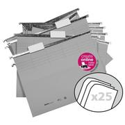 BIELLA Suspension File 271255.25 grey 25 pieces