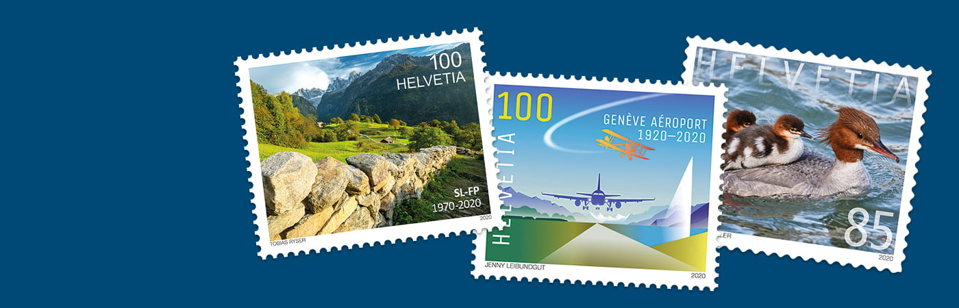 THE NEW STAMPS HAVE ARRIVED