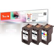 Peach Multi Pack Plus, compatible with Canon PG-512, CL-513