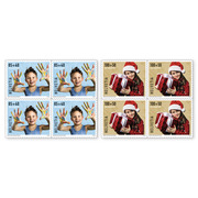 Pro Juventute - Happy childhood Set of blocks of four (8 stamps, postage value CHF 7.40+3.60), self-adhesive, mint