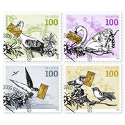 Special events, Set Set (4 stamps, postage value CHF 4.00), self-adhesive, cancelled