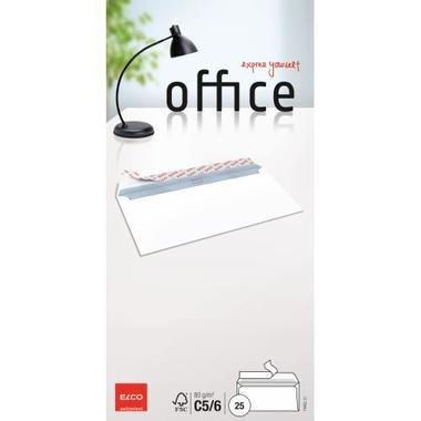 ELCO Busta Office s / finestra C5 / 6 74462.12 80g, bianco 25 pezzi