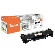 Peach Toner Module black, compatible with Brother TN-2410