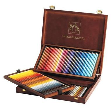 CARAN D'A Coloured pencil Supracolor 3888.920 ass. 120 pcs.