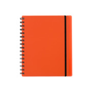 KOLMA Notebook Easy KolmaFlex A5 06.551.04 red, checked 5mm 100 sh.