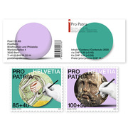Craftsmanship and cultural heritage, Stamp booklet Stamp booklet with 4 stamps at CHF 0.85+0.40 with  «Fresco» motif and 6 stamps at CHF 1.00+0.50 with  «Sculpture» motif, gummed, mint