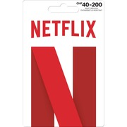 Carte cadeau Netflix variable