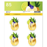 Summer, Sheet «Drink» Sheet with 10 stamps «Drink» of CHF 0.85, self-adhesive, mint