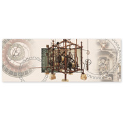 Clockmaking, Miniature Sheet Miniature sheet of CHF 5.00, gummed, mint