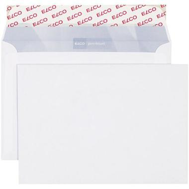 ELCO Envelope Premium w / o window B6 30736 100g, white 500 pcs.