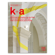 Magazine k+a Architectural art at Swiss Post