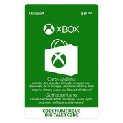 Giftcard Xbox CHF 50.-