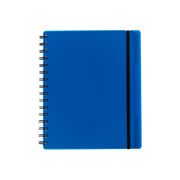 KOLMA Notebook Easy KolmaFlex A5 06.551.05 blue, checked 5mm 100 sh.