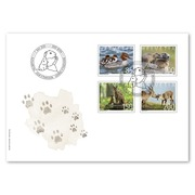 Animal families, First-day cover Set (4 stamps, postage value CHF 5.35) on first day cover (FDC) C6